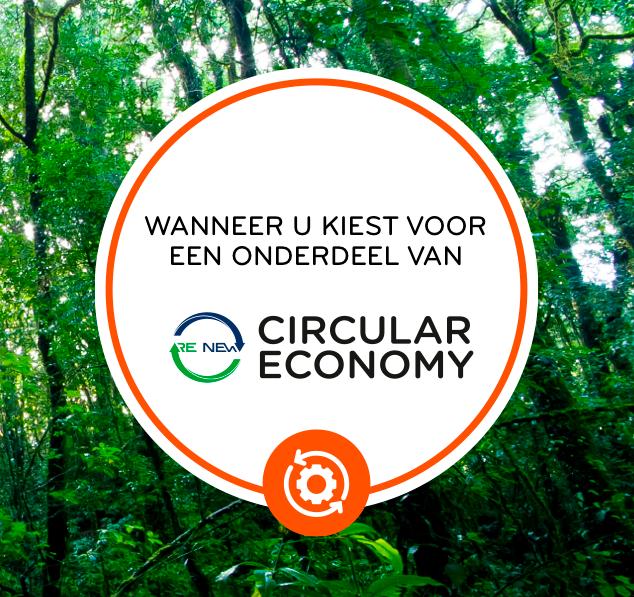Circular economy onderdelen
