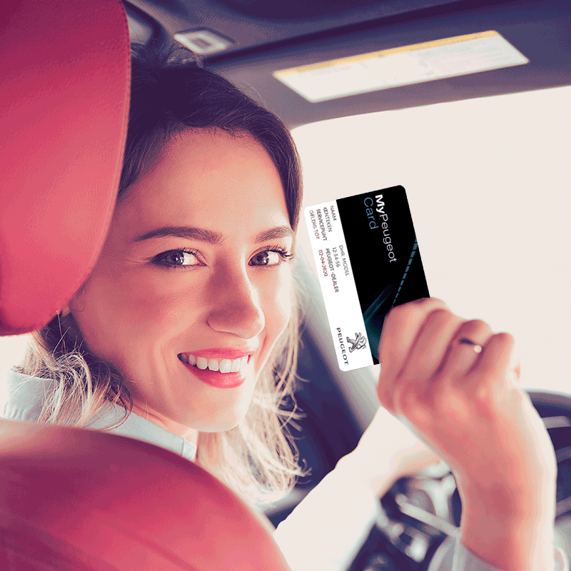 My Peugeot Card