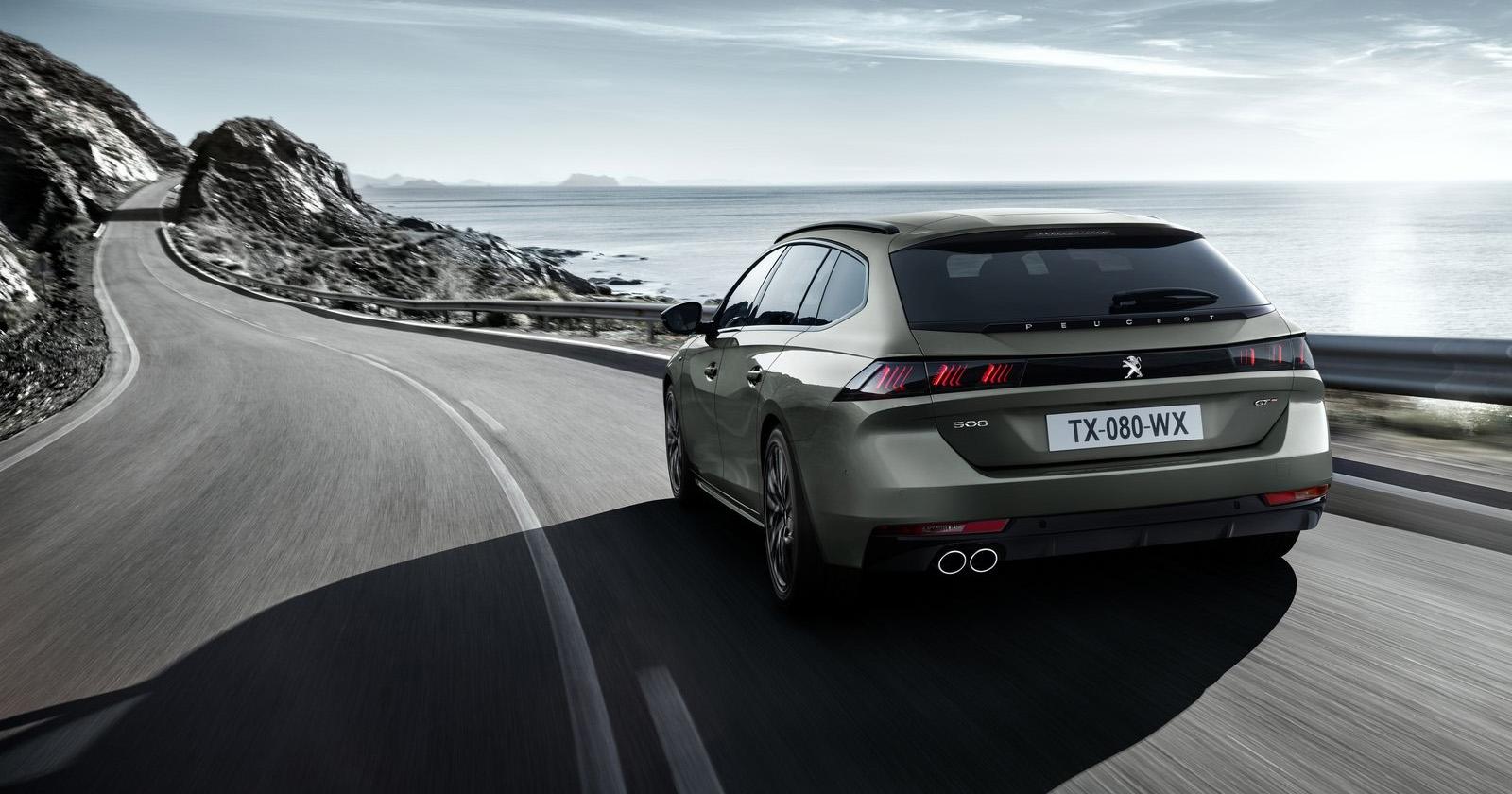 Video impressie Peugeot 508 SW