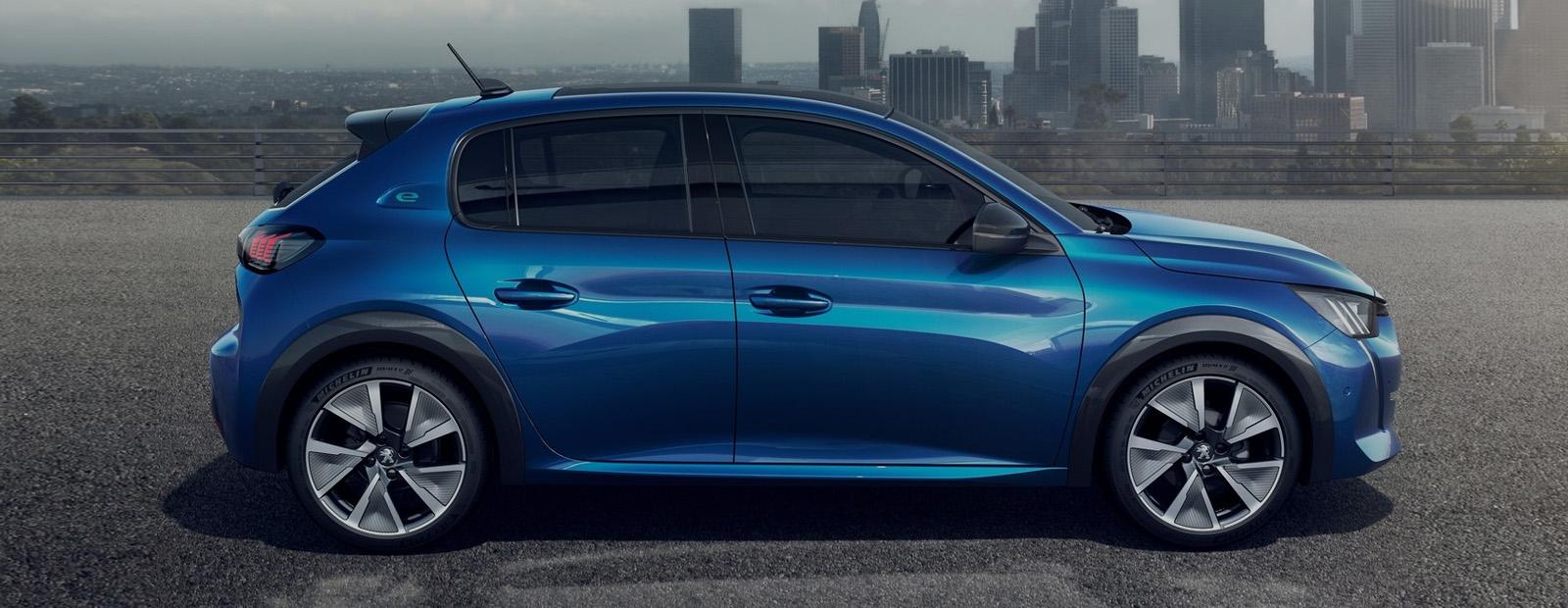 Impressie nieuwe Peugeot e208